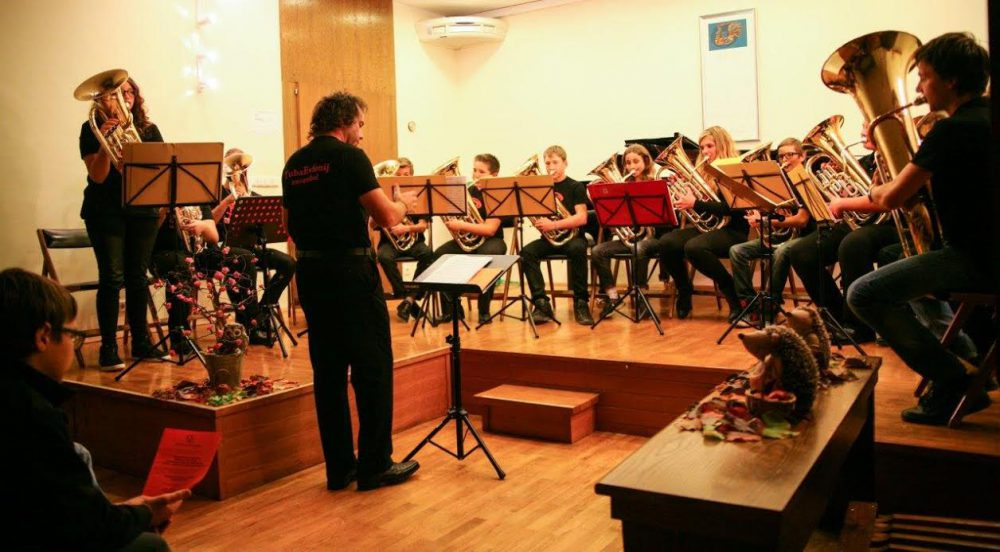 TubaEvfonij ansambel Glasbene šole Kranj