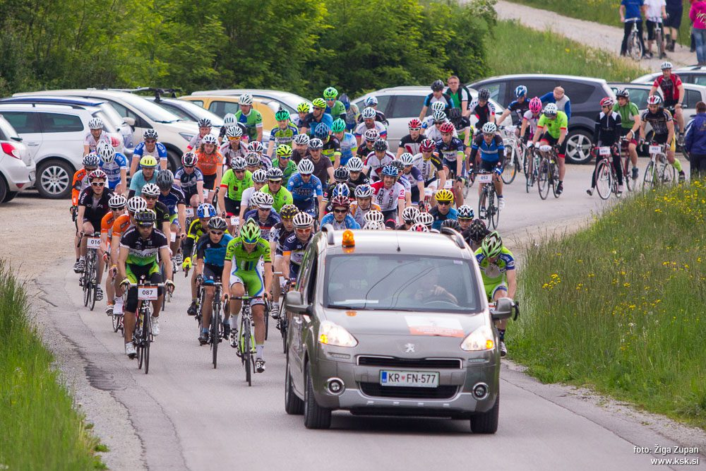8. kolesarski vzpon na Jošt – PRESTAVLJENO