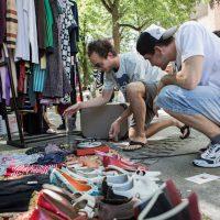 Izmenjevalnica oblačil in garažna razprodaja