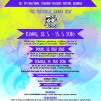 XIII. Mednarodni otroški folklorni festival