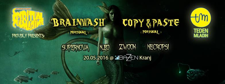Spiritual SubMarine proudly presents BRAINWASH and COPY&PASTE